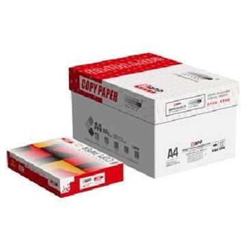 图片 小钢炮(TOPGUN)红色小钢炮复印纸 A4 80g 500张/包 10包/箱